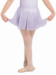 Bloch Lilac Georgette Sequin Skirt