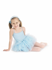 CLEARANCE - Bloch Pastel Blue Glacier Tutu Leotard