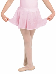 Bloch Pink Georgette Sequin Skirt