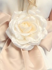 Blossom Satin Dress Rose