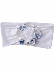Blue / White Mimi & Maggie Amalfi Coast Collection Headband