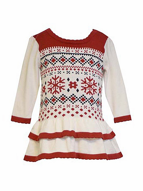 Jean Fairisle Intarsia Sweater Dress