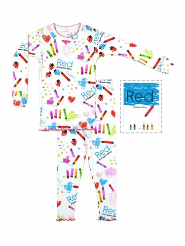 Books To Bed A Crayon's Story Pajama Set