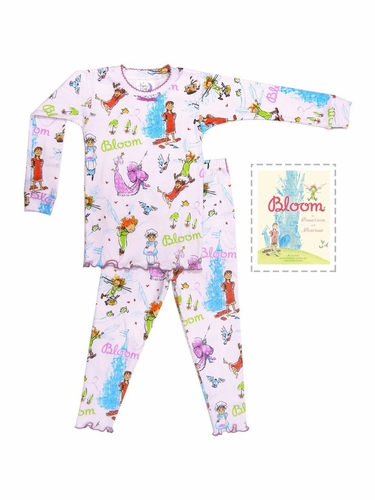 Books To Bed Bloom Pajama Set