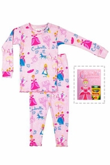 Books To Bed Cinderella Pajama Set