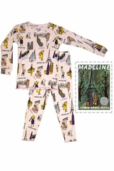 Books To Bed Madeline Pajama Set