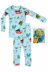 Books To Bed Peter Pan Pajama Set