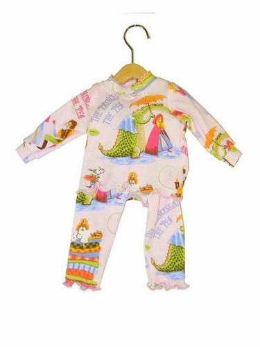 "Books To Bed Princess & The Pea 18"" Doll Matching Pajamas"