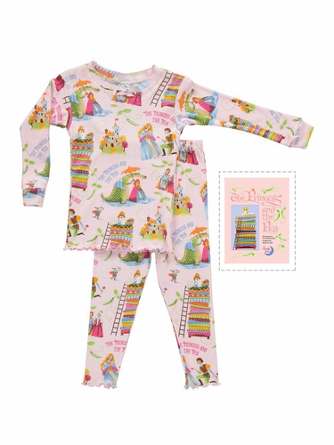 Books To Bed Princess & The Pea Pajama Set