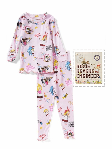 Books To Bed Rosie Revere Engineer Pajama Set