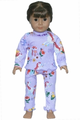 "Books To Bed Uni The Unicorn 18"" Doll Matching Pajamas"