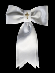 Boys Arm Band w/ Gold Cross
