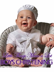 Boys Christening - Little Things Mean a Lot