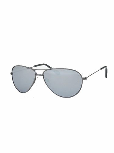 Boys Dark Gray Metal Sunglasses