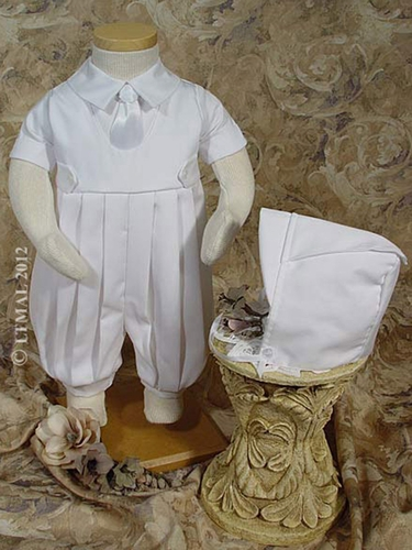 Boys Gabardine Knicker Christening Set