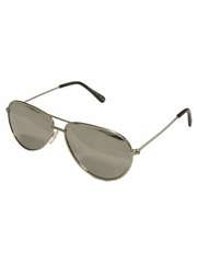Boys Silver Metal Sunglasses