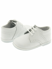 Boys White Hi-Top Boot