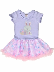 Bunny & Basket Easter Tutu Dress