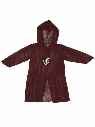 Burgundy/Gold Chainmail Tunic
