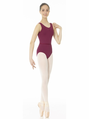 Mondor Burgundy Pinched Front Royal Academy of Dance Leotard