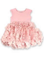 cach<i>cach</i> Pinky Icy Blooms Ballet Dress
