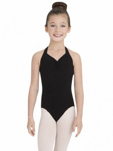 Capezio Black Princess Halter Leotard