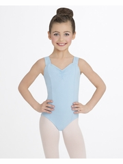 Capezio Child Light Blue Princess Tank Leotard