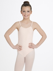 Capezio Child Nude Camisole Leotard with Adjustable Straps