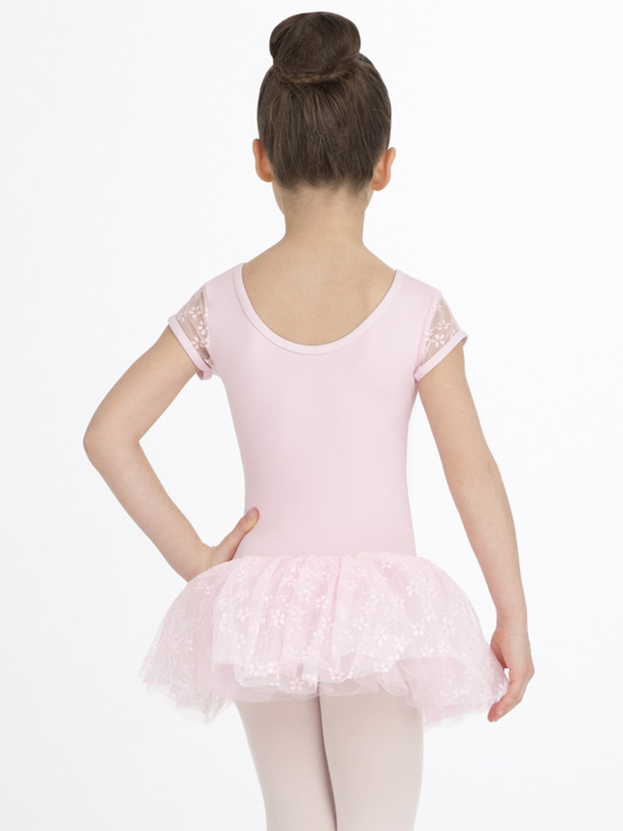 Capezio Child Pink Flower Cap Sleeve Tutu Dress Baby 0 2th Click To Enlarge