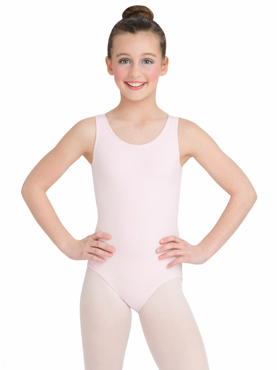 494566f268c0 Capezio Child Pink High-Neck Tank Leotard