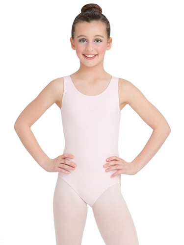 Capezio Child Pink High-Neck Tank Leotard