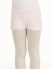 Capezio Child Pink Short Applique
