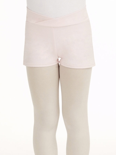Capezio Child Pink Short Appliqué