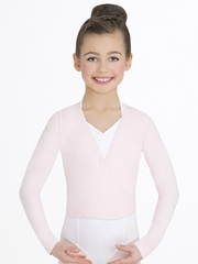 Capezio Child's Pink Wrap Top
