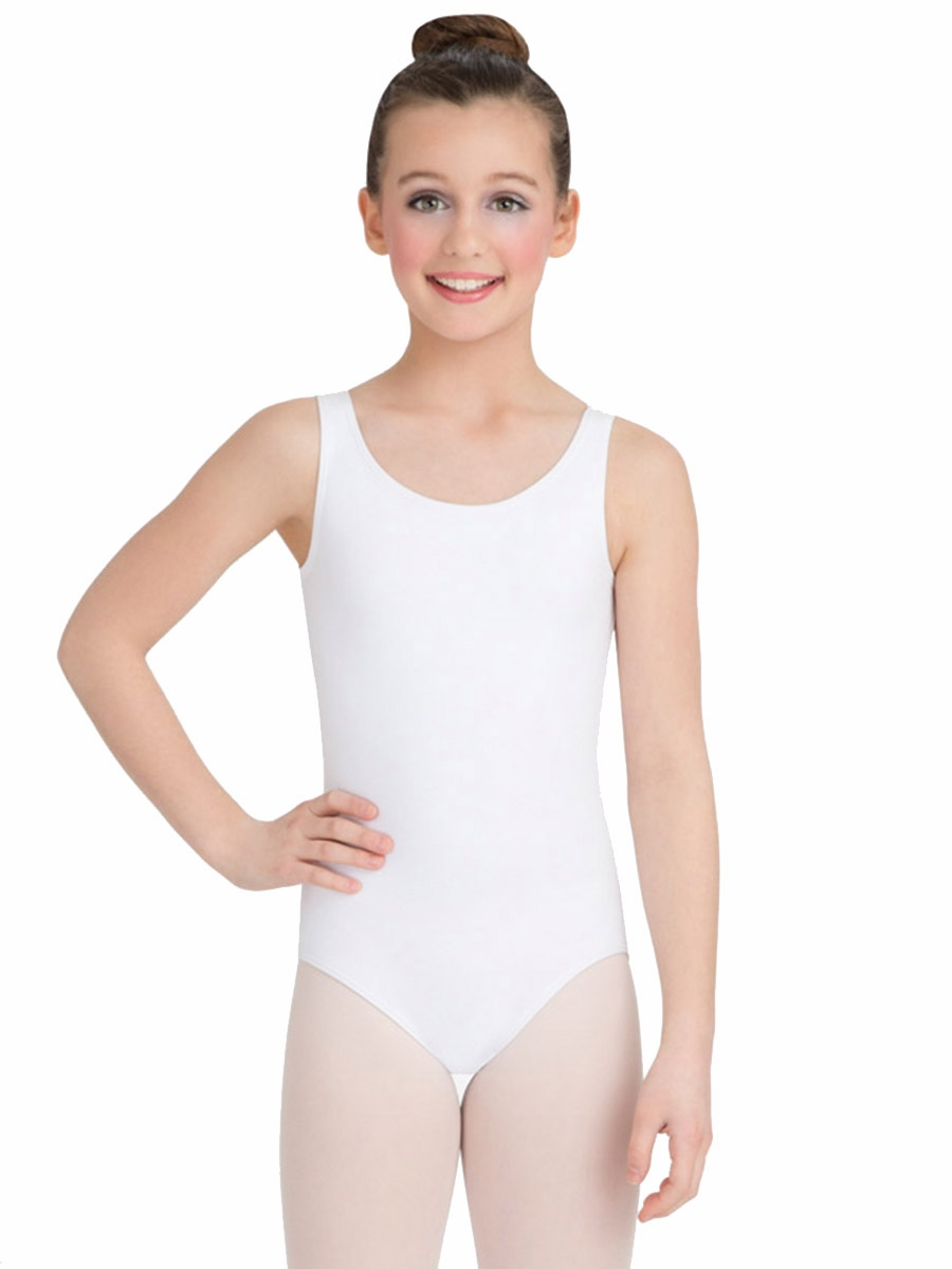 White and Ivory Cream Leotards for Girls and Toddlers. Affordable, adorable childrens leotards for flower girls, costumes, ballet, and gymnastics.