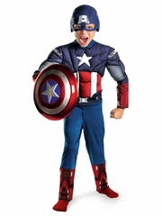 Captain America Avengers Movie Classic Muscle