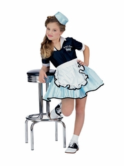 Car Hop Girl Costume