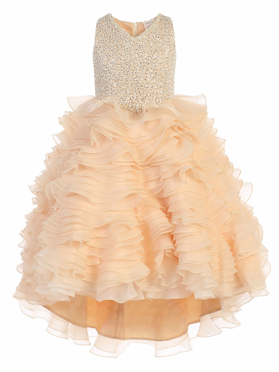 Yellow Pageant Dresses & Gowns - PinkPrincess.com