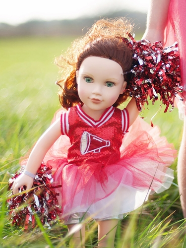 "Cheerleader 18"" Doll Set"