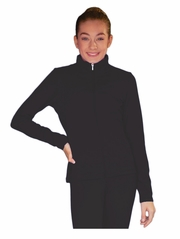 ChloeNoel Black Elite Solid Jacket w/ Thumb Holes
