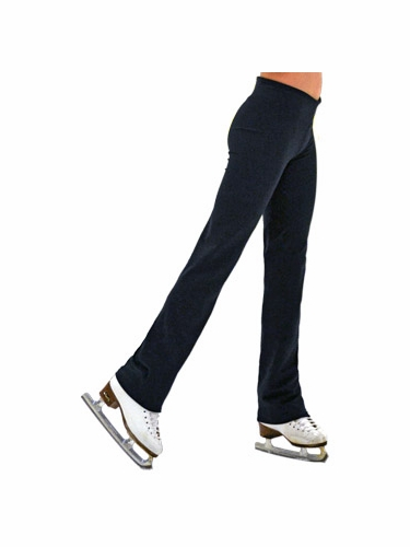 "ChloeNoel Black 3"" Waist Straight Leg Pants"