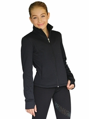 ChloeNoel Black Princess Seam Pocket w/ Thumbholes Jacket