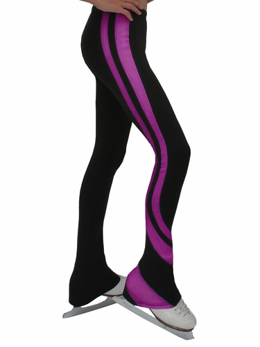 ChloeNoel Black & Purple Swirls Pants