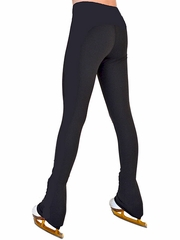 "ChloeNoel Black Supplex 3"" Waist Band Skate Pants"