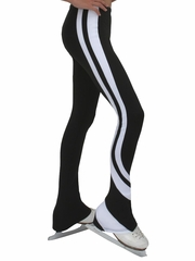 ChloeNoel Black & White Swirls Pants