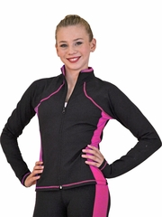 ChloeNoel Fuchsia Supplex Princess Seam Jacket