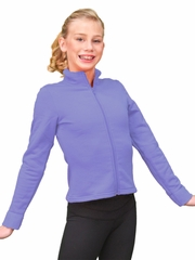 ChloeNoel Lavender Polar Fleece Fitted Jacket