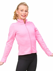 ChloeNoel Pink Polar Fleece Fitted Jacket