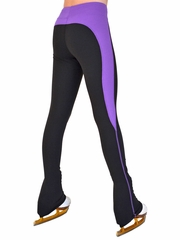ChloeNoel Purple Supplex Rider Style Skate Pants