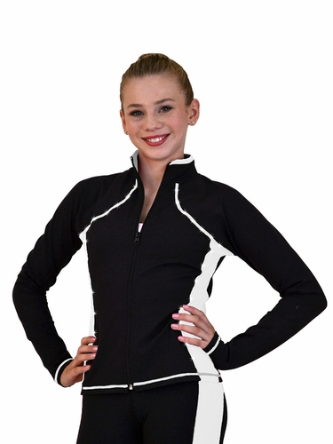 ChloeNoel White Supplex Princess Seam Jacket